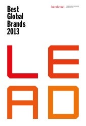 Interbrand Best Global Brands 2013 ...