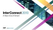 InterConnect 2013 Big Data & Analyt...