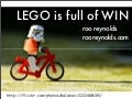 LEGO is full of WIN