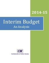 Interim Budget 2014-15: An Analysis...