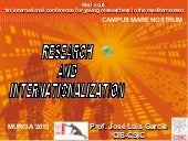 Internacionalization R&D, by José L...