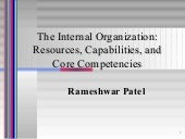 Internal Analysis Competencies.