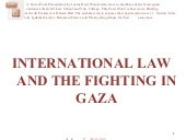 International Law And The Fighting ...