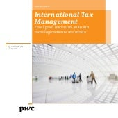 International Tax Management en 2013