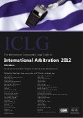 International Arbitration 2012, by Global Legal Group