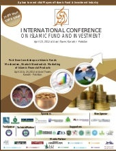International conference on islamic...