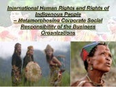 Rights of Indigenous people- metamo...
