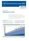 International Pensions & Population Growth