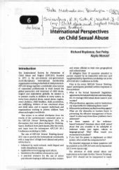 International perpectives on child ...