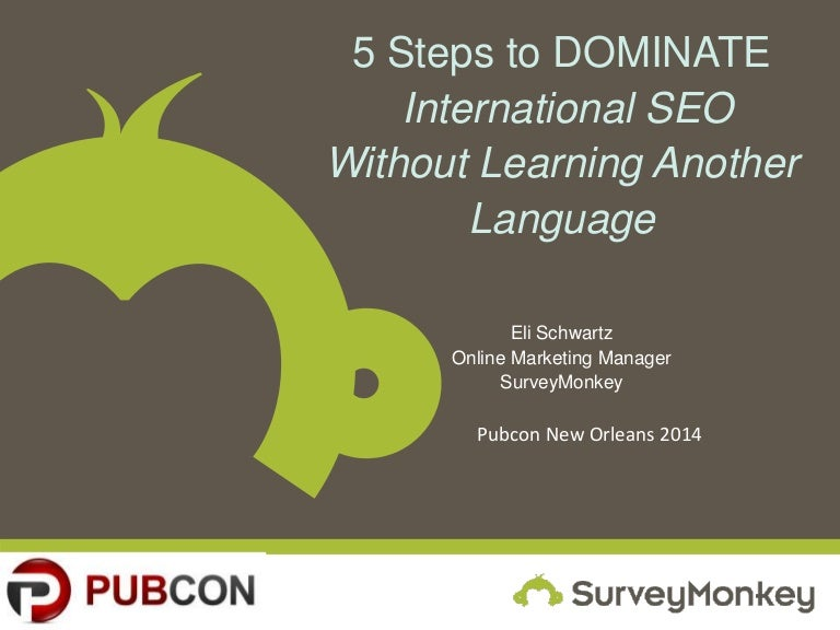 International Search Engine Optimization - Steps to Domination with Keyword Research