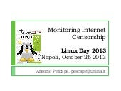 Internet Censorship at Linux Day 20...