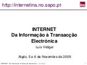 Internet Info Transac Nov 2009