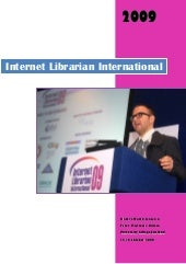 Internet Librarian 2009 London