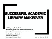 Successful Academic Library Makeover - Internet Librarian 2015