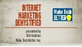 Internet marketing demystified 1