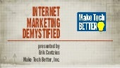Internet marketing demystified 2