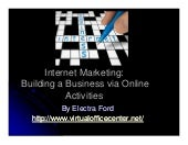 Internet Marketing Handout 8 2009