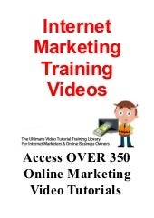 Internet Marketing Training Videos ...