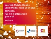Internet, mobile, cloud e social me...