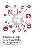 Internet of things: making the most of the second digital revolution