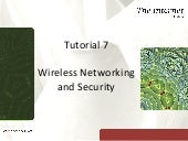Tutorial 7 - Wireless Networking an...