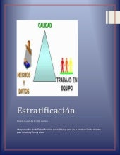 Interpretacion de estratificación