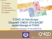 FOAD et Handicaps : le dispositif C...
