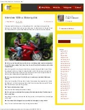 Interview with a Motorcyclist - wha...