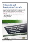 Citizenship and Immigration Outreach