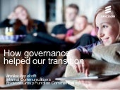 Case Ericsson: How governance helped us