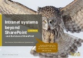 Intranet systems beyond SharePoint in Scandinavia