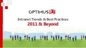 SharePoint Intranet trends & best p...