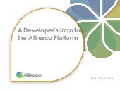 Intro to Alfresco for Developers
