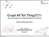 Intro to Graph Databases and Neo4j (SV JUG Apr, 2014)