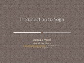 Intro to Yoga