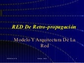 RED De Retro-propagación Neuronal