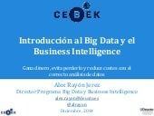 Introducción al Big Data y el Business Intelligence