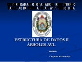 Introduccion a Arboles AVL