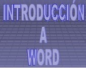 Introduccion A Word