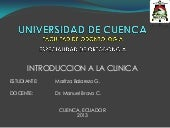 Introduccion a la clinica ortodoncia