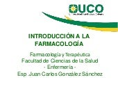 Introduccion a la farmacologia jc...