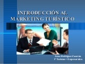 Introducción al Marketing Turístico