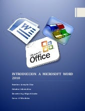 Introduccion a microsoft word 2010