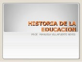historia educativa de mexico