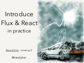 Introduce flux & react in practice