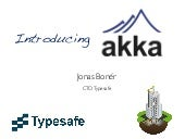 Introducing Akka