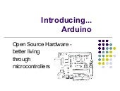 Introducing... Arduino