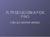 Introducion A Fox Pro