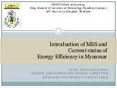 Introduction session 1 - Myanmar