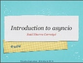Introduction to asyncio
